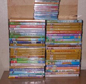 Диски DVD детские