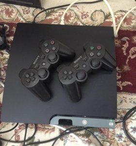 PS3 2 джестика 20 игр