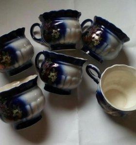 Кружечки кофейные,6 штук
