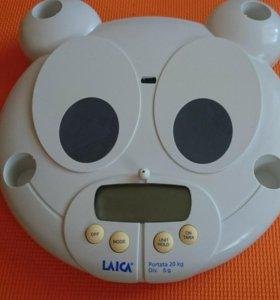 Весы для новорожденных laica