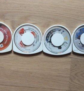 4 игры на PSP