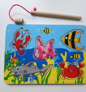 Игрушка магнитная рыбалка