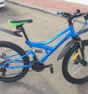 Новый велосипед для подростка krostek jett 405