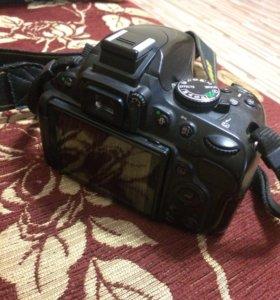 Nikon D5100 + обьектив Nikon 18-155