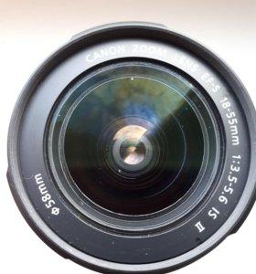 Объектив Canon 18-55 mm