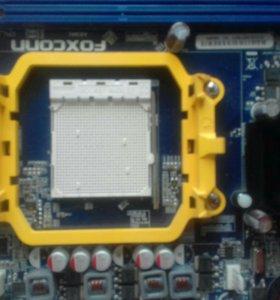 материнская плата Foxconn A6GMV socket AM3