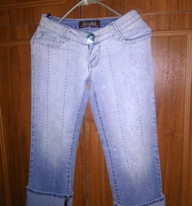 Бриджи можно делать джинцами