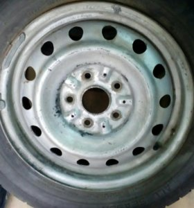 Колесо 195/65 на диске r15*6JJ на запаску