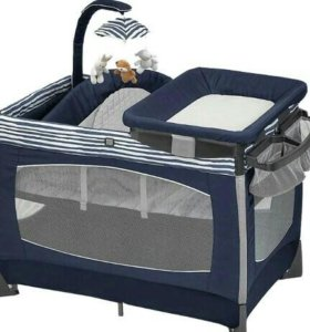 Кроватка-манеж chicco lullaby baby playard