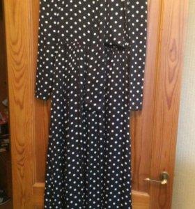 Платье в пол 42р-р