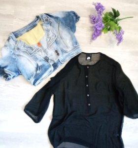 Жилет+ блуза 44-46