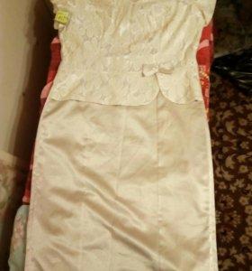 Платье новое 52р.