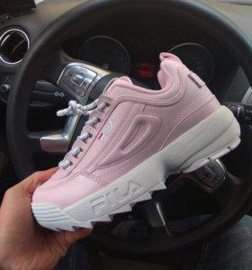 FILA Disruptor 2(ll),розовые,Доставка