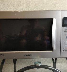 Микроволновая печ  Samsung с грилем