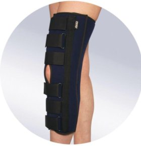 Тутор на коленный сустав вместо гипса б/у
