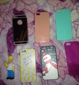 Чехлы на iPhone 5 (5S 5SE)