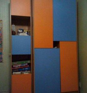 Мебель в детскую (шкаф, пенал,тумба, полка)