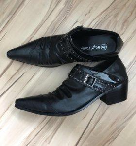 Туфли мужские новые натуральная кожа