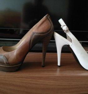 Босоножки и туфли кожа