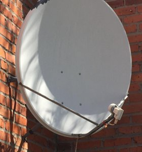 Спутниковая антена б/у