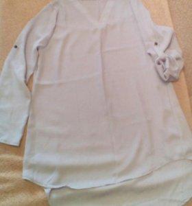 Туника, платье-рубашка новая