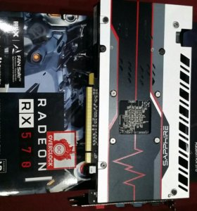 SAPHIRE Radeon RX570 4GB