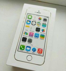 IPHONE 5S   16gb. золотой