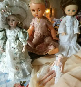 Куклы одним лотом