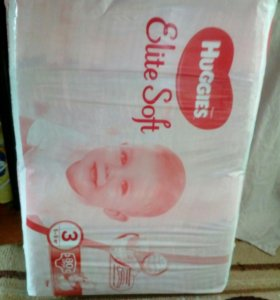 Huggies Elite soft 3