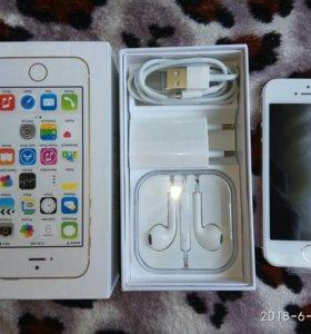 Айфон 5S gold(оригинал новый)