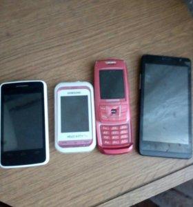 Телефоны:мтс,SAMSUNG,SAMSUNG,ark,--- на запчасти.