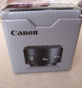 Canon EF 50 мм f/1.8 II