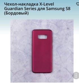 Силиконовый чехол-накладка на SAMSUNG S8