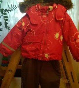 Куртка и полукомбинезон с сапожками
