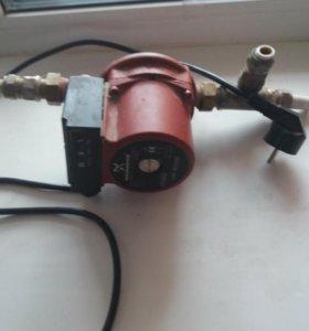 Водяной насос для повышение давление газовых колон