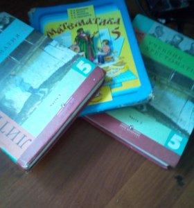 Учебники по математике и литературе 5 класс
