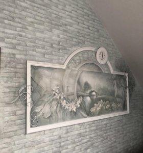 Декор стен/оформление стен