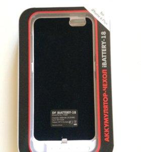 Чехол-аккумулятор на айфон 6+