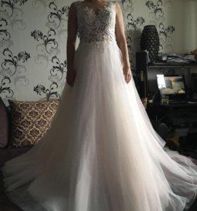 Эксклюзивное новое Свадебное Платье