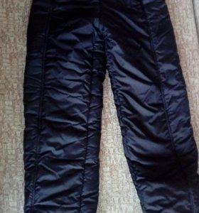 Болоневые штаны зимние