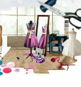 Пошив и ремонт одежды, оптовые серии одежды.