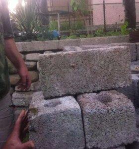 Блок керамзитный 1000 шт.