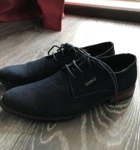 Туфли мужские замшевые 40 размер