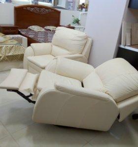 Кресло и кресло с реклайнером(набор 2 шт)