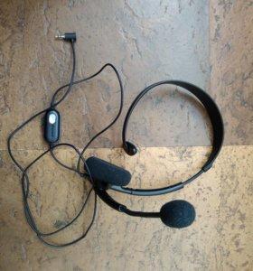 Наушники с микрофоном для геймпада от Xbox 360