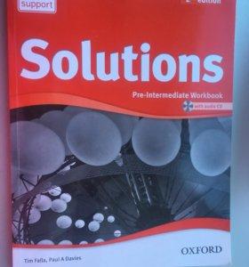 Рабочая тетрадь Solutions