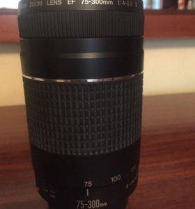 Объектив Canon EF 75-300 мм f/4-5.6 III