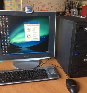 Компьютер Pentium комплект четырехядерный 500 Gb