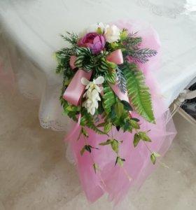 На свадебное авто и зал