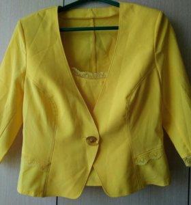 Летний пиджак + топик